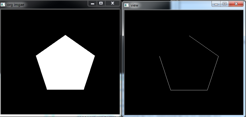 How To Draw An Open Non Closed Contour Using