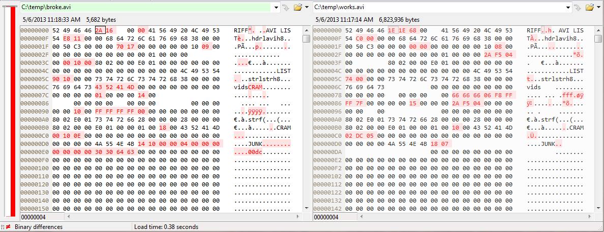 VideoWriter fourcc=-1 works but CV_FOURCC('C','R','A','M