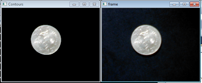 Count The Pixel Black Or White In Real Time Opencv Q