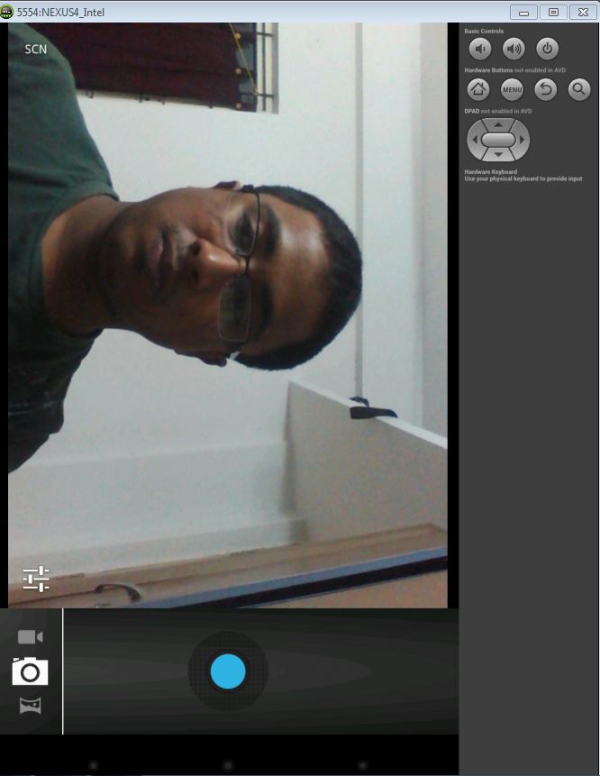 Android Camera opens in landscape mode orientation for front