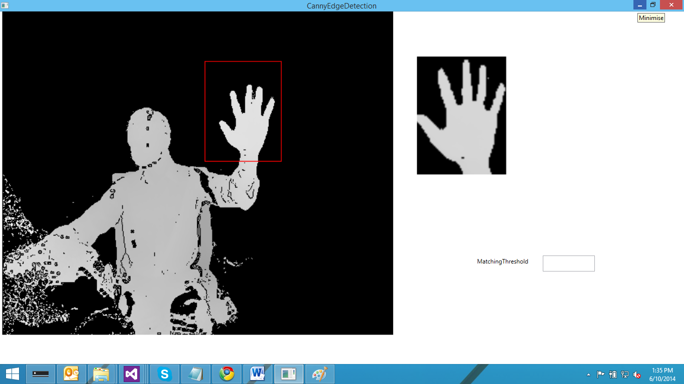 Template matching is not working correctlyis there a way to solve handtrackg handtrackwrongg pronofoot35fo Images
