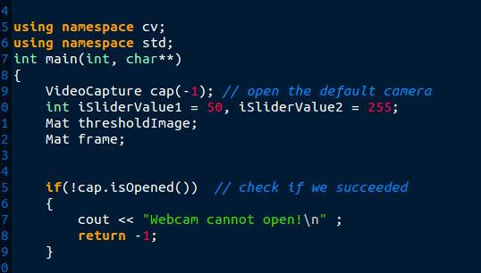 videocapture cannot open default camera - OpenCV Q&A Forum