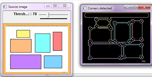 How to find angle of corners detected? - OpenCV Q&A Forum