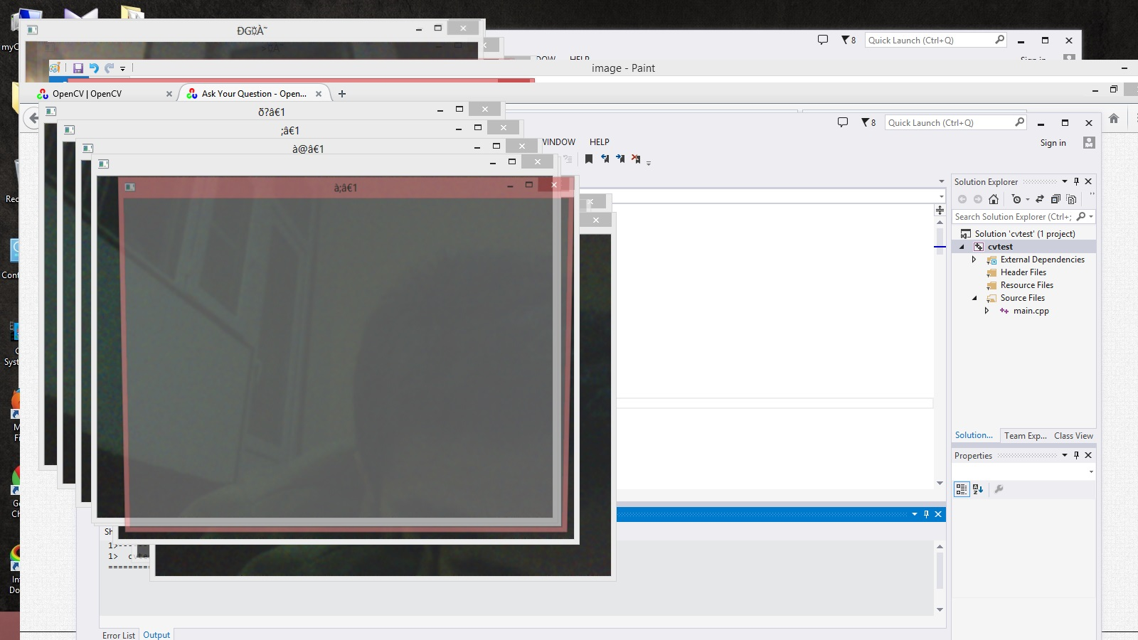 motion tracking problem - OpenCV Q&A Forum