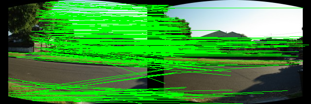 Dense optical flow for stitching - OpenCV Q&A Forum