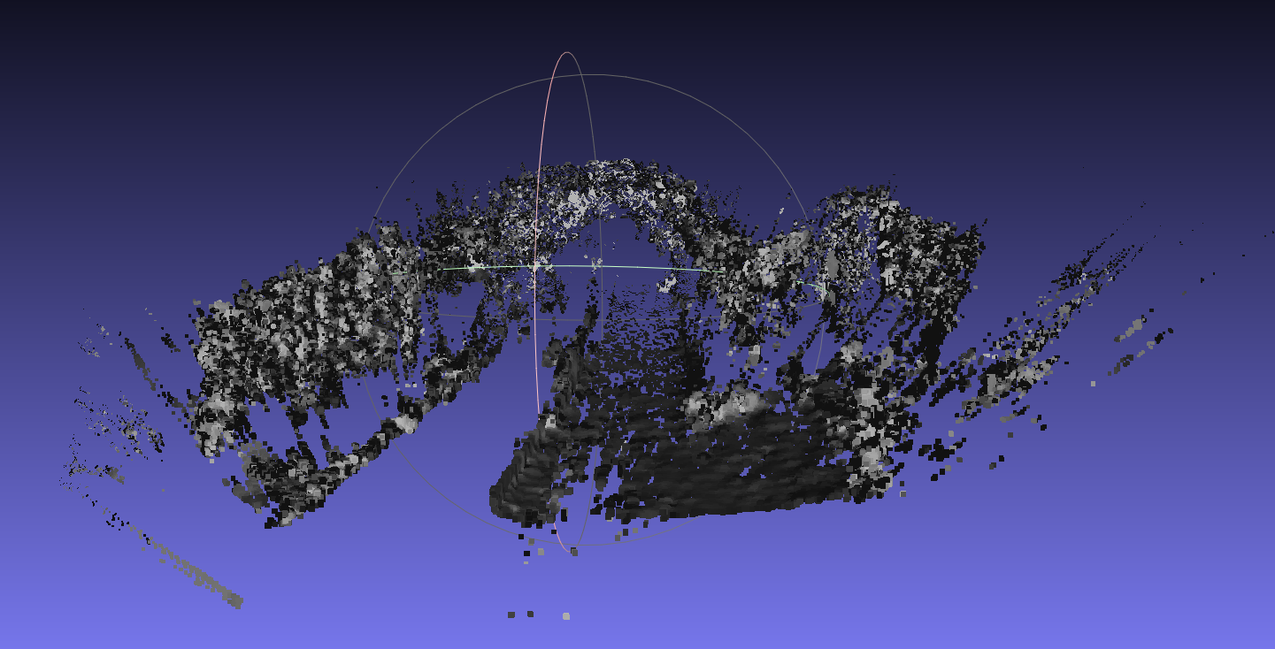 Getting point cloud from disparity - OpenCV Q&A Forum