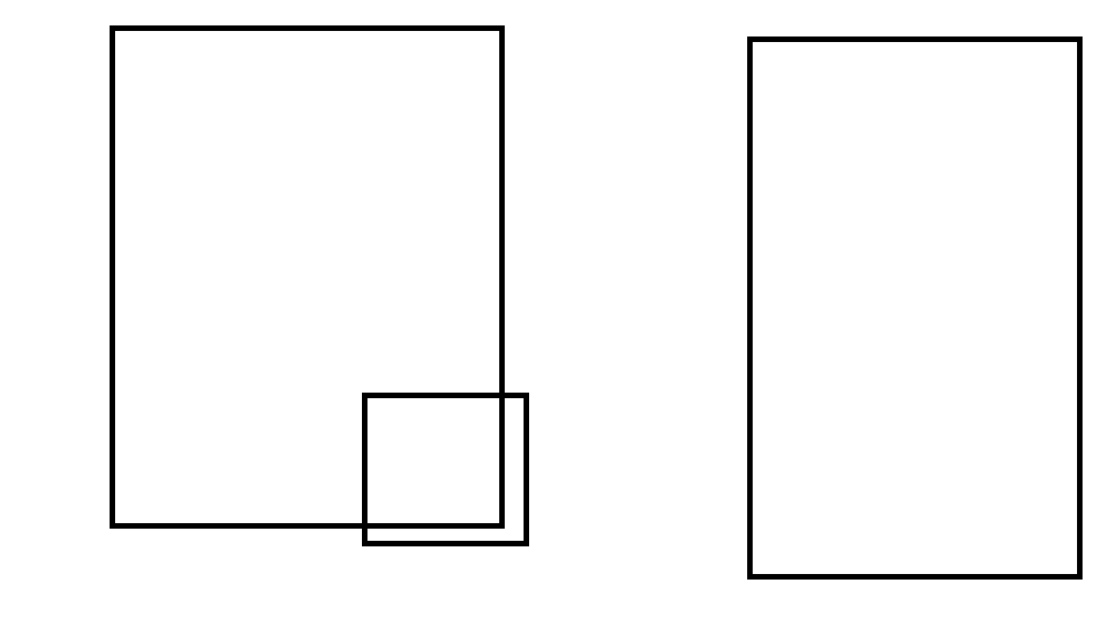 How to find if 2 rectangles are overlapping each other