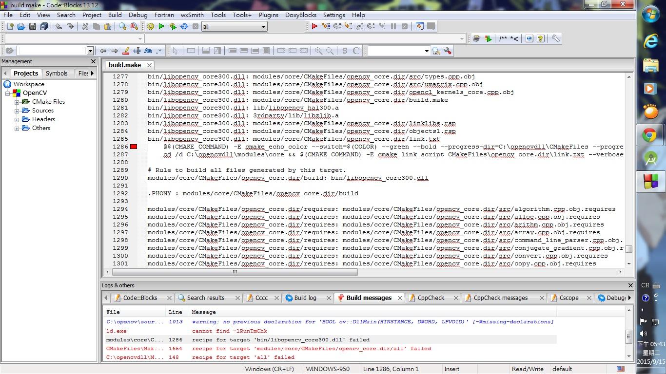 How install OpenCV in CodeBlocks? - OpenCV Q&A Forum