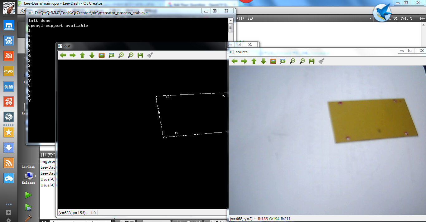 How to get the corners of rectangle shapes? - OpenCV Q&A Forum