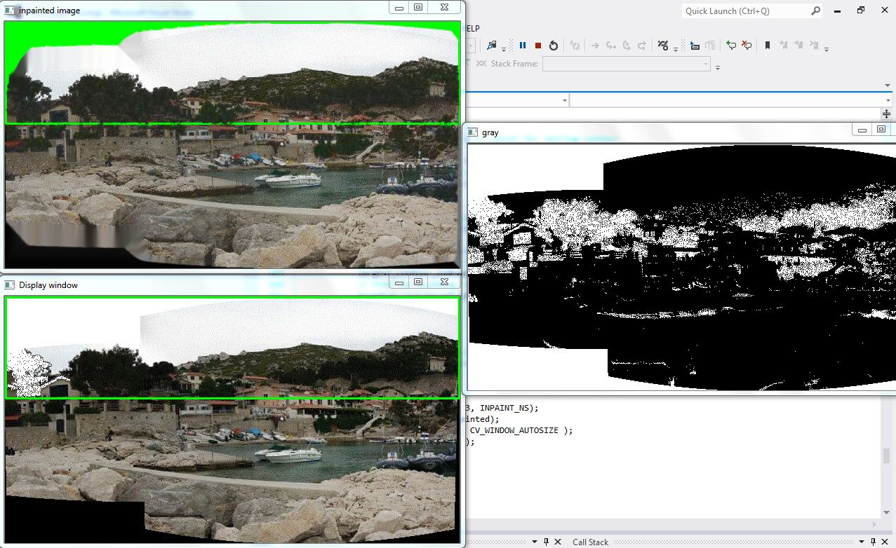 Create mask to select the black area - OpenCV Q&A Forum