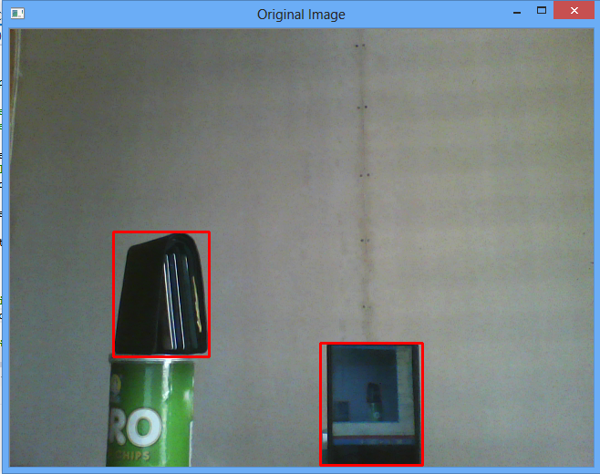 find rectangle in image opencv