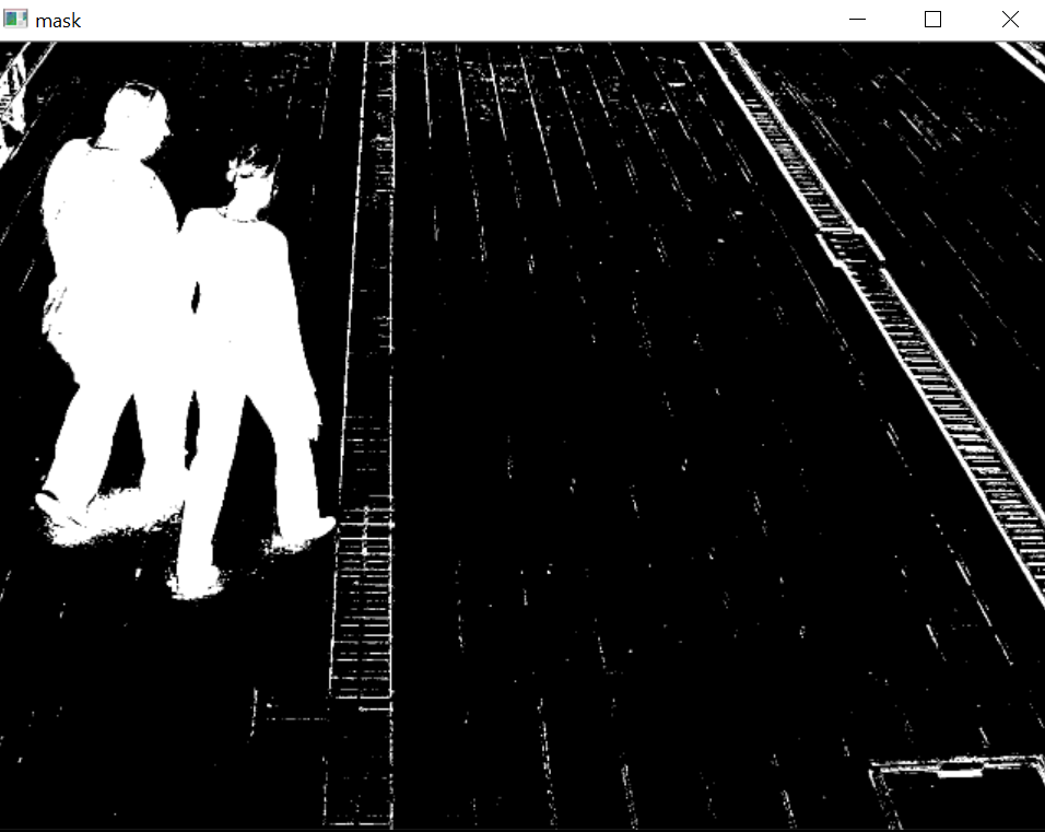 Using BackgroundSubtractorMOG2 for images - OpenCV Q&A Forum