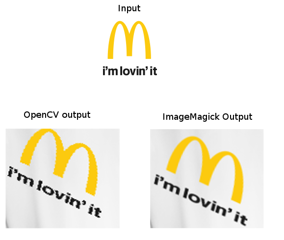 Antialiasing in warpPerspective - OpenCV Q&A Forum