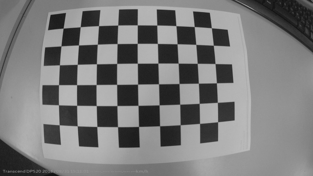 Can a paper printed chessboard affect camera calibration