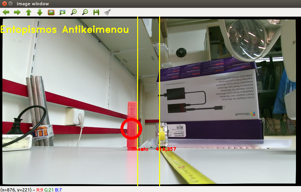 Get depth data from Kinect v2 - ROS - OpenCV Q&A Forum