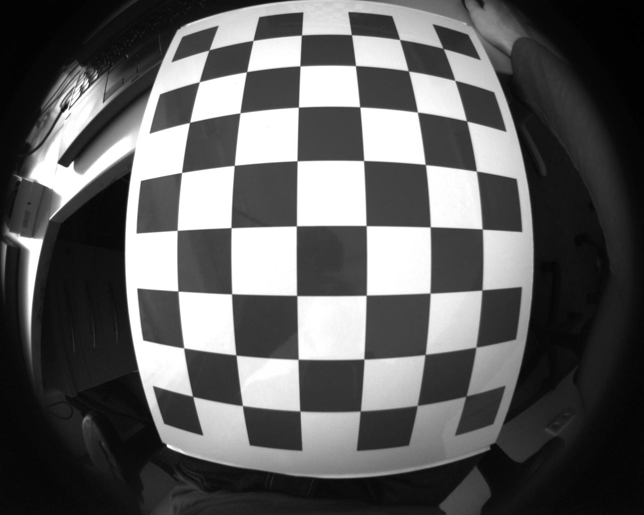 Chessboard detection fails on fisheye image - OpenCV Q&A Forum