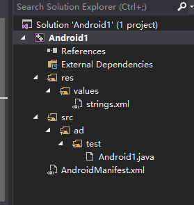 Configure OpenCV for Android with Visual Studio(NVIDIA