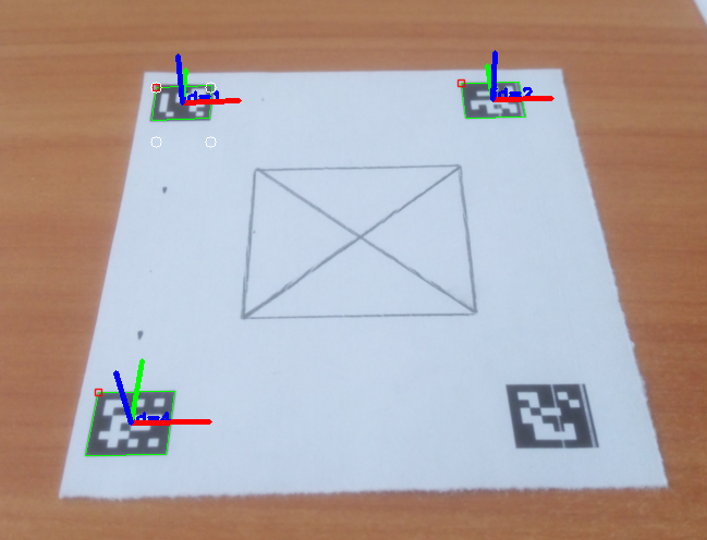 Turning ArUco marker in parallel with camera plane - OpenCV Q&A Forum