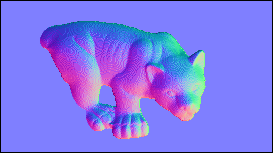 Depth map to Normal map conversion OpenCV QA Forum