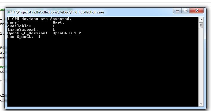 descriptorMatcher (BruteForce-Hamming) with OpenCL - OpenCV Q&A Forum