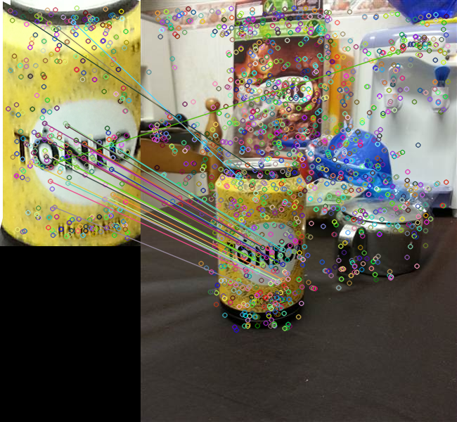 Surf and Brisk have terrible accuracy - OpenCV Q&A Forum
