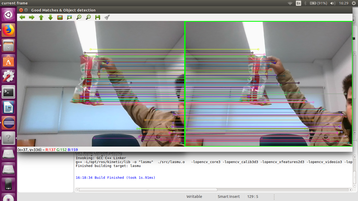 how to make bounding box on surf features ? - OpenCV Q&A Forum