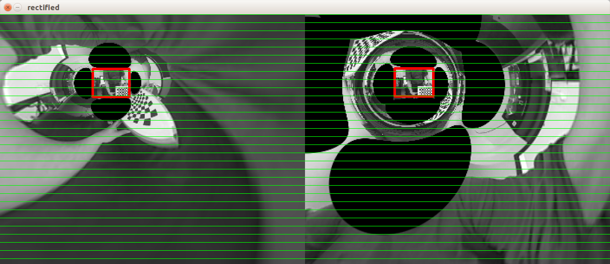 Calibration of a stereo camera with images 352x288 p  - OpenCV Q&A Forum
